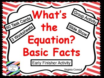 Equations and Word Problems:  Set 1
