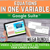 Equations in One Variable Digital Distance Learning Unit M