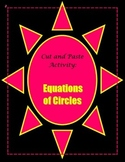 Equations of Circles Activity