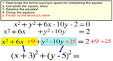 Equations of Circles, 3 Intro Lessons + 11 Assignments for Power Point