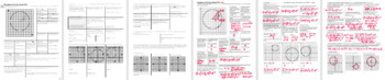 Equations of Circles Spring 2014 (Editable)