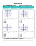 Equations of Horizontal Lines Worksheet