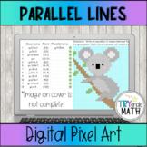 Equations of Parallel Lines Digital Activity Pixel Art