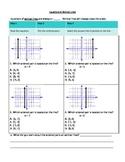 Equations of Vertical Lines Worksheet
