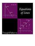 Linear Equations - Lesson Plans and Teacher Notes