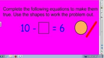 Equations-true or false