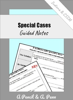 Equations with Special Cases