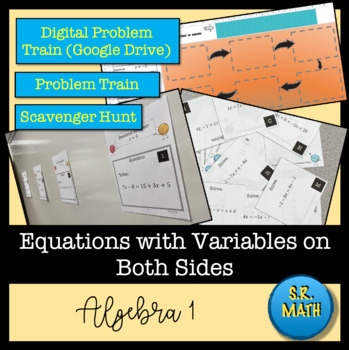 Equations with Variables on Both Sides - Problem Train - Joke and Punchline