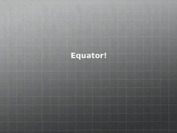 Equator and Hemispheres