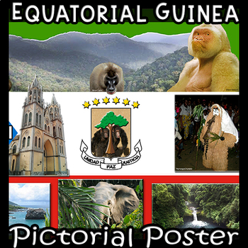 Equatorial Guinea  Photo Poster - Horizontal