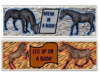 Equestrian Bookmarks