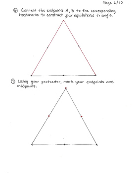 Equilateral Triangle Tessellation Step-By-Step Guide
