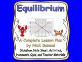 Equilibrium - Lesson Plan and Activities