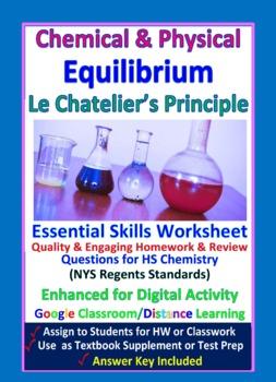 Equilibrium, Stress & Le Chatelier's Principle - Worksheets & Practice Questions