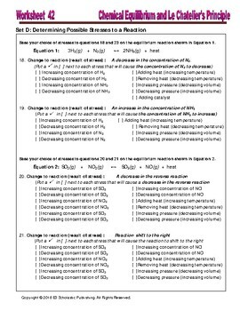 CHEM-GUIDE: Le-chatelier's principle and its application