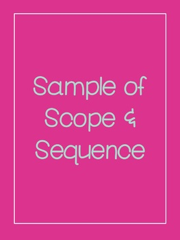 Equine Science Scope & Sequence 2017 - 2018