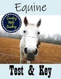 Equine Test & Key