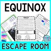 Equinox ESCAPE ROOM! - Earth Science - NO PREP, PRINT & GO!