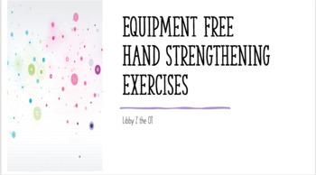 Equipment Free Ot Hand Exercise Videos By Libbyztheot Tpt