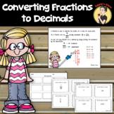 Fractions to Decimals 4th Grade