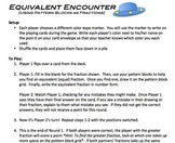 Equivalent Encounter: Game for Finding Fraction Equivalenc