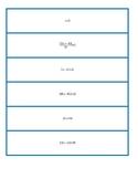Equivalent Equation Matching Set 1
