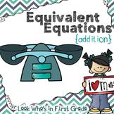 Equivalent Equations ~ Addition