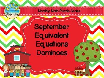 September Equivalent Dominoes