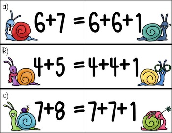 Equivalent Equations: doubles plus 1 FREE