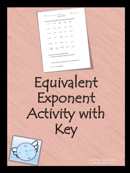 Equivalent Exponents