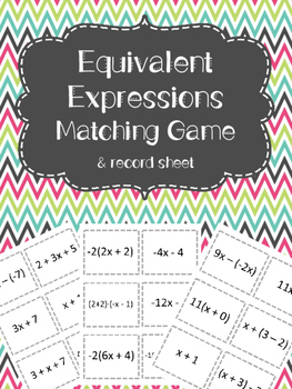 Equivalent Expressions