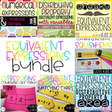 Equivalent Expressions BUNDLE CCSS 6.EE.3 & 6.EE.4 Aligned**