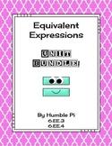 Equivalent Expressions Bundle-6.EE.3, 6.EE.4