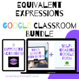 Equivalent Expressions Google Form Bundle – Perfect for Google Classroom!