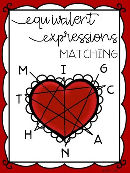 Equivalent Expressions Matching Freebie