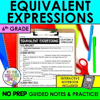 Equivalent Expressions Notes