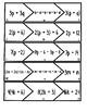 Equivalent Expressions Puzzles CCSS:  6.EE.A.3
