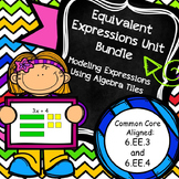 Equivalent Expressions Unit Bundle (6.EE.3,4)