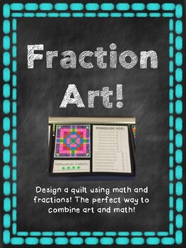 Equivalent Fraction Art Project