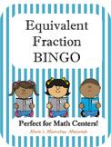 Equivalent Fraction BINGO Game