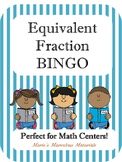 Equivalent Fraction BINGO Game