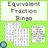 Equivalent Fraction Bingo