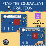 Equivalent Fraction - Boom Cards