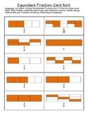 Equivalent Fraction Card Sort