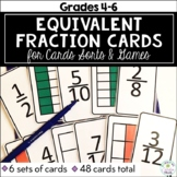 Equivalent Fraction Card Sort (and card games!)