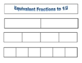 Equivalent Fraction Craft