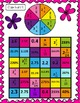Equivalent Fraction, Decimal, Percent- Four in a Row Game