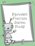 Equivalent Fraction Game Domino Mix-Up Math Game