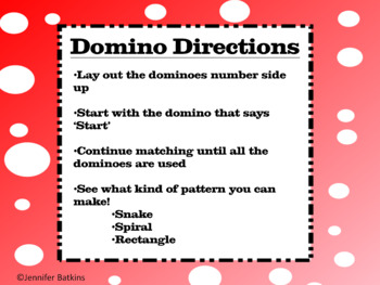 Equivalent Fraction Dominoes  Math Center Activity