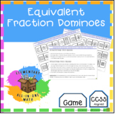 Equivalent Fraction Dominoes Game (4.N.F.1)
